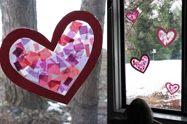 Valentines School Crafts