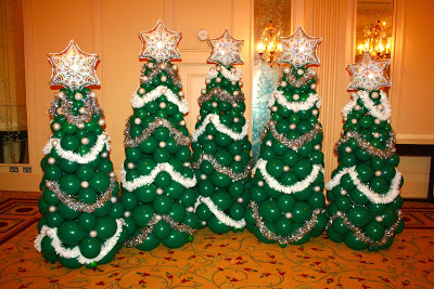 Christmas Tree Balloon.12 Diys For Making A Balloon Tree Guide Patterns