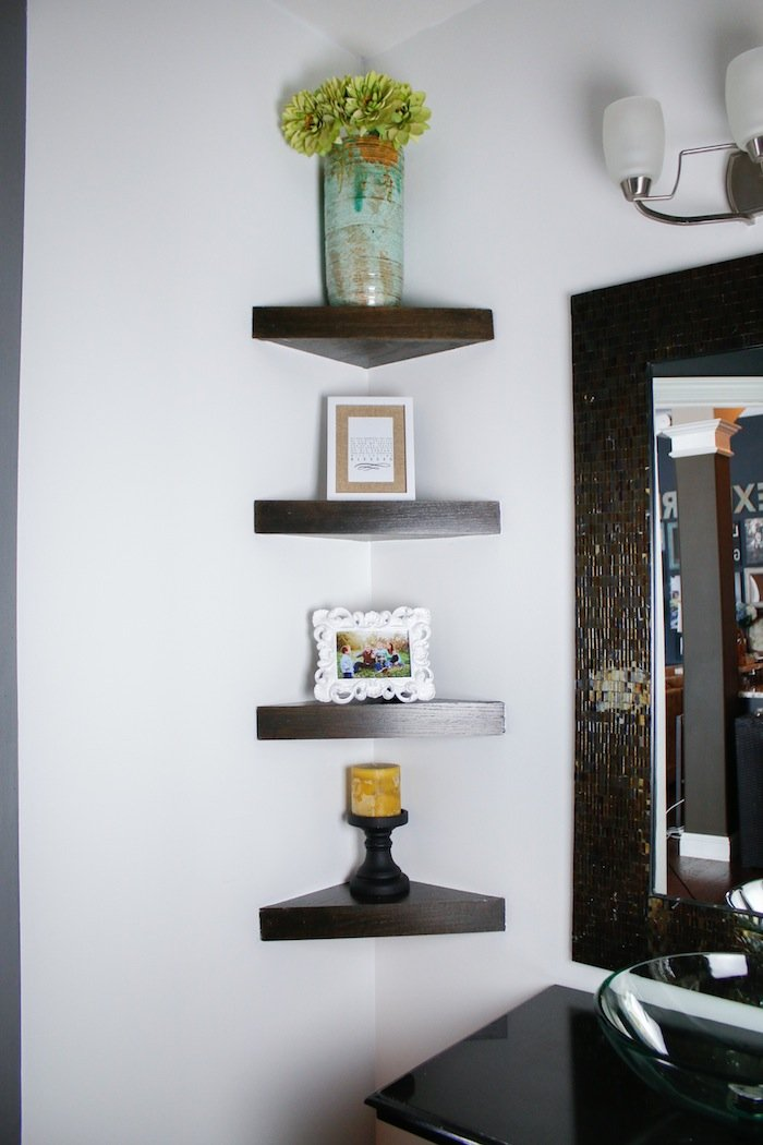 book shelves awkward diy your beautify bookshelf custom corner to