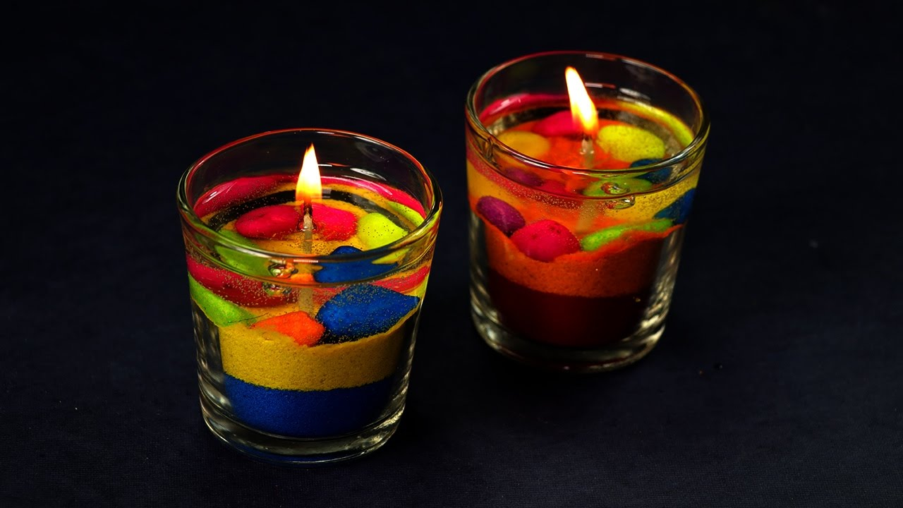 24 Exotic Ways To Make Gel Candles Guide Patterns