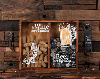 11 Wine Cork Shadow Box Diy Plans Guide Patterns