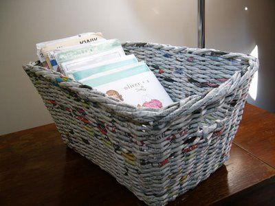 Easy Craft With Old Newspaper