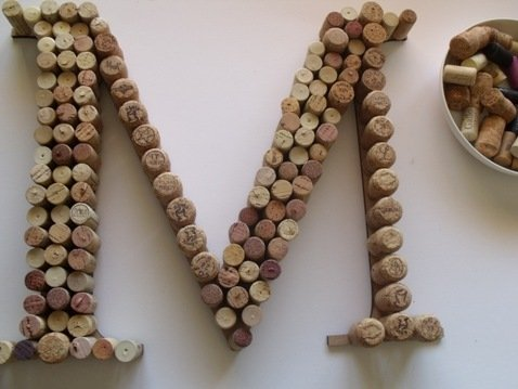 21 super cool ideas for wine cork board guide patterns for Cool wine cork projects
