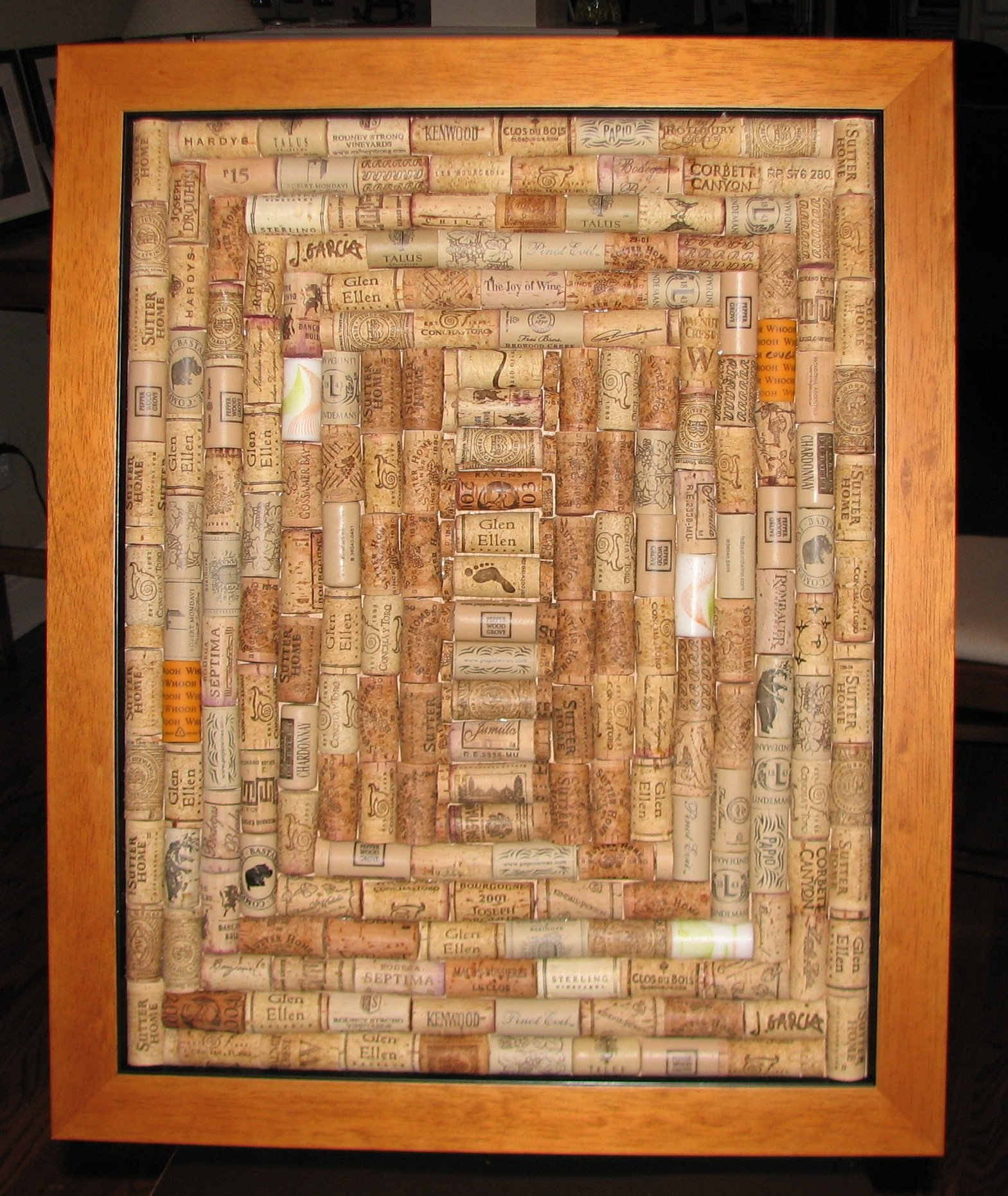 Wine Cork Board Craft Ideas