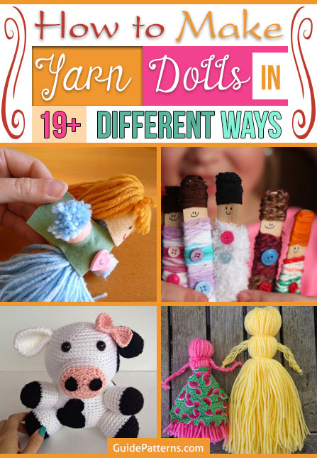 yarn dolls make how to