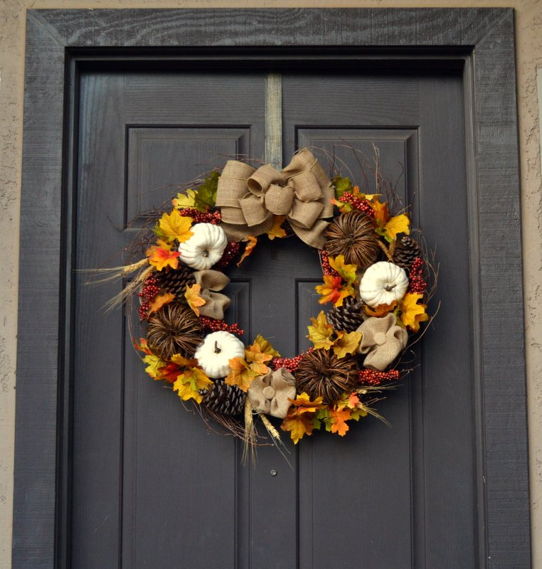 How To Make Fall Wreaths: 54 Easy Tutorials