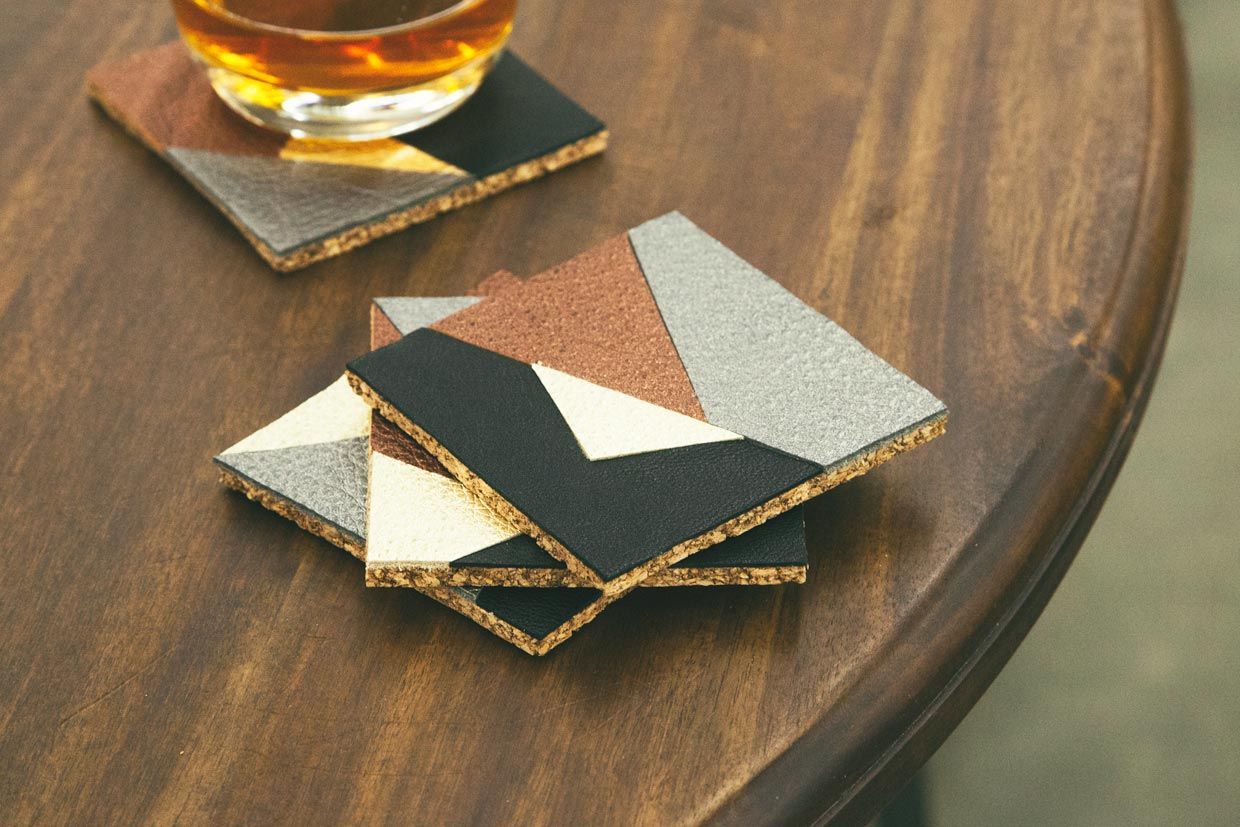 Christmas Coasters Set