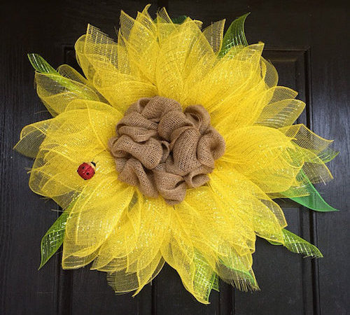 66 Diy Summer Wreath Ideas To Hang On Your Door Guide