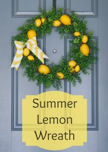 Summer Door Wreath Picture