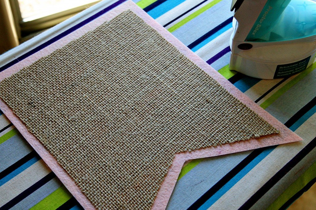 34 diys to make a burlap banner
