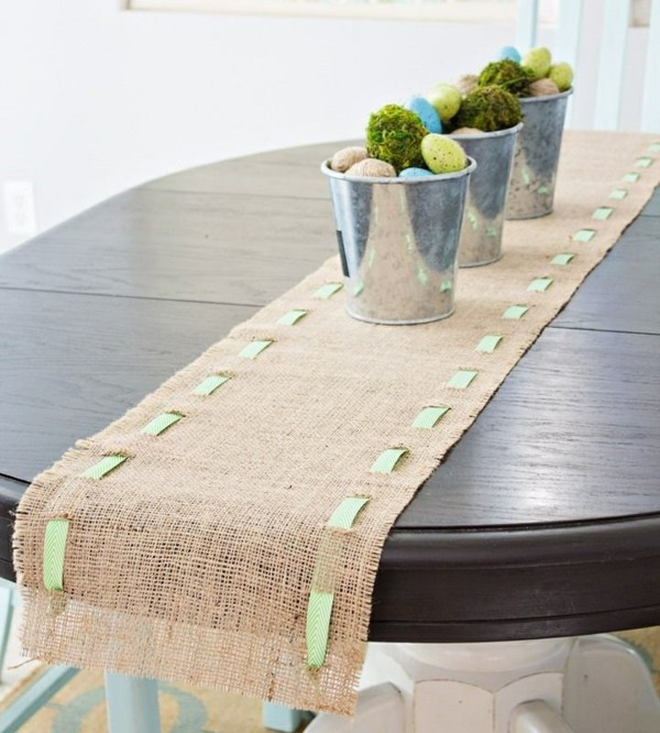 Diy Easter Table Runner