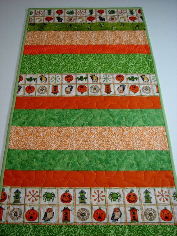 12 Easy Halloween Table Runner Patterns And Ideas Guide