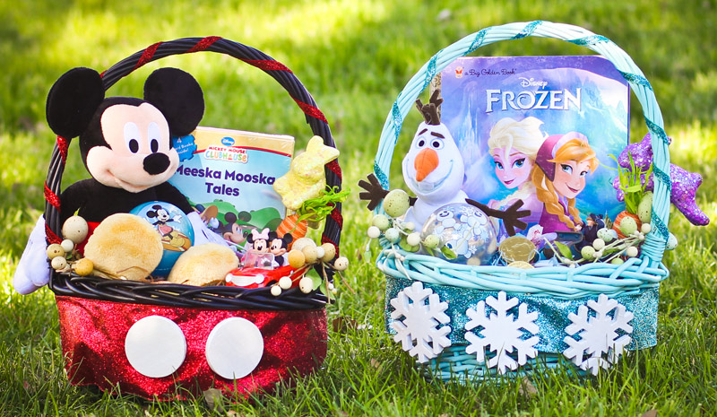 12 adorable mickey mouse easter basket diys with instructions 12 adorable mickey mouse easter basket diys with instructions guide patterns negle Choice Image