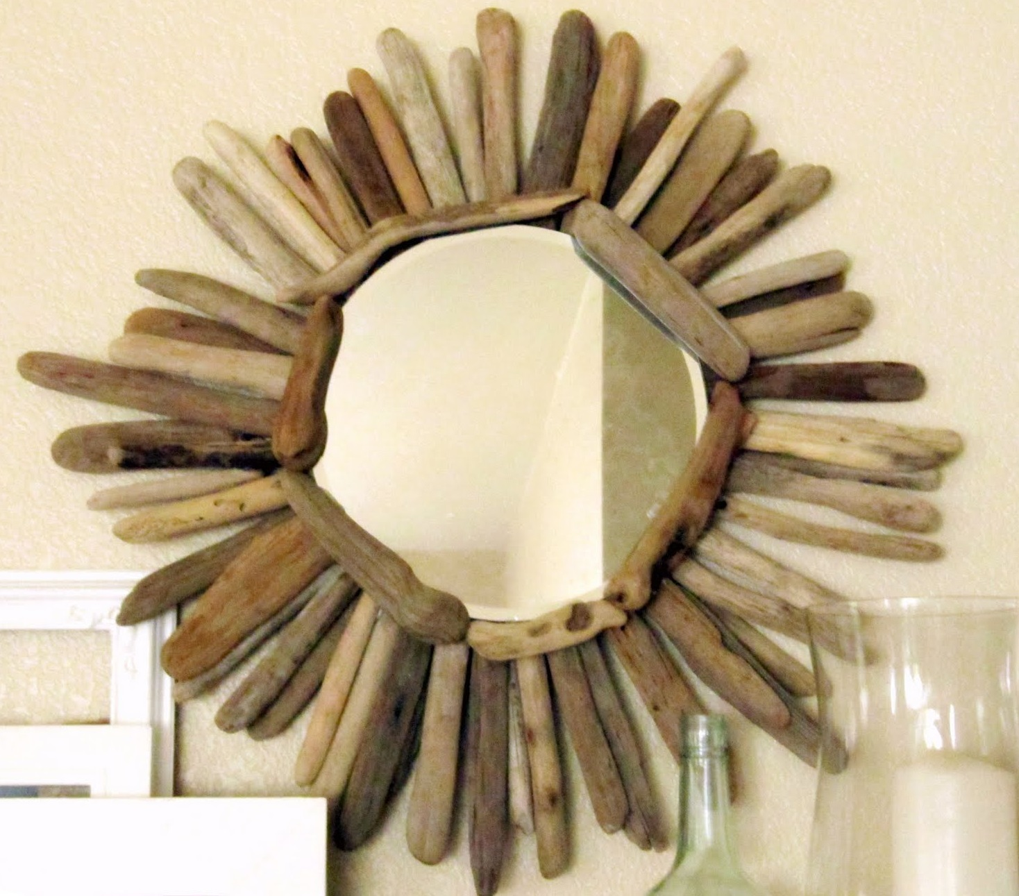 Driftwood lamp 11 diy s guide patterns - Driftwood Mirror Picture