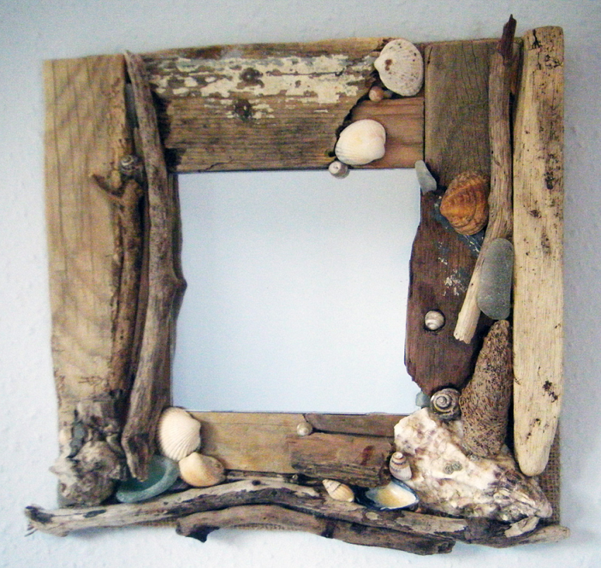 19 Creative Diys For Driftwood Mirror Guide Patterns