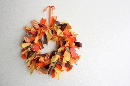 Easy Thanksgiving Wreath