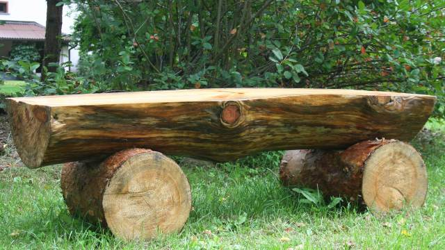 Fantastic 20 Plans To Build A Rustic Bench From Logs Guide Patterns Ibusinesslaw Wood Chair Design Ideas Ibusinesslaworg