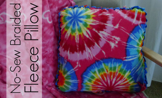 No Sew Fleece Pillow Directions: 47+ Easy DIYs to Make a No Sew Pillow   Guide Patterns,