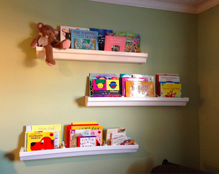 8 innovative designs for rain gutter bookshelves guide