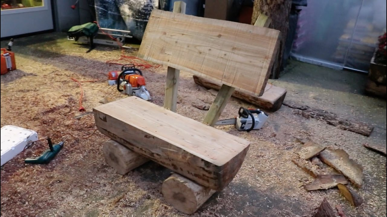Sensational 20 Plans To Build A Rustic Bench From Logs Guide Patterns Ibusinesslaw Wood Chair Design Ideas Ibusinesslaworg