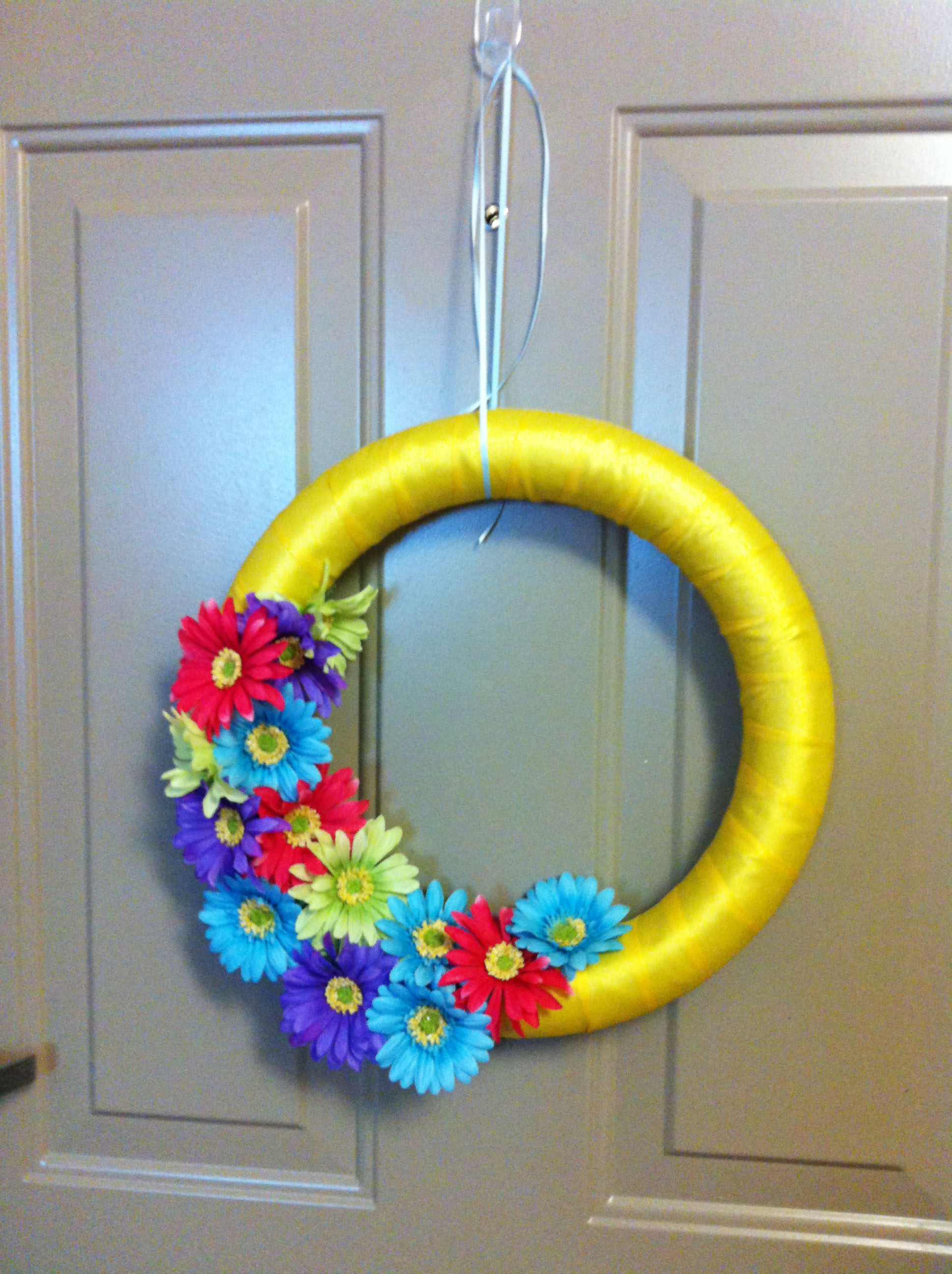 39 diy spring wreaths for the front door that you can for How to make door wreaths for spring