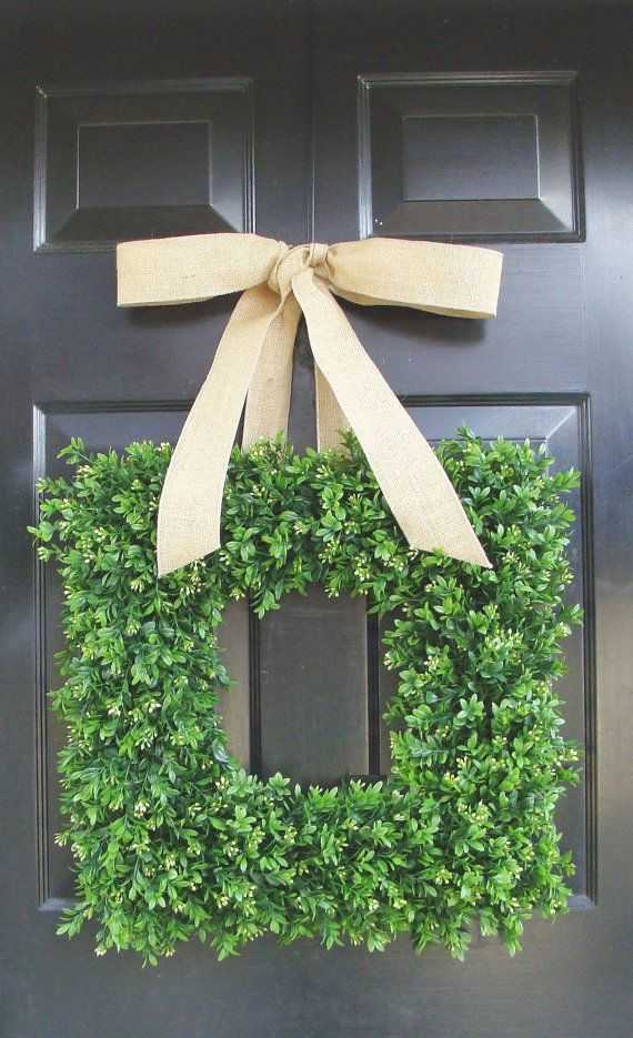 39+ DIY Spring Wreaths For The Front Door That You Can Make | Guide Patterns