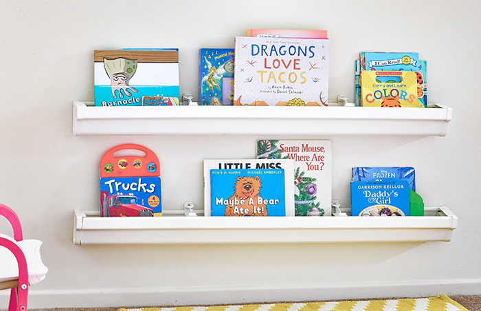 8 Innovative Designs For Rain Gutter Bookshelves Guide Patterns