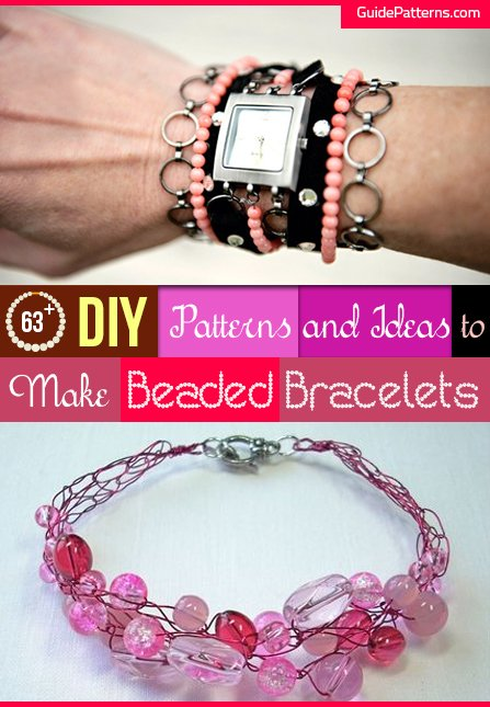 1bf1b1f2f70023 63+ DIY Patterns and Ideas to Make Beaded Bracelets