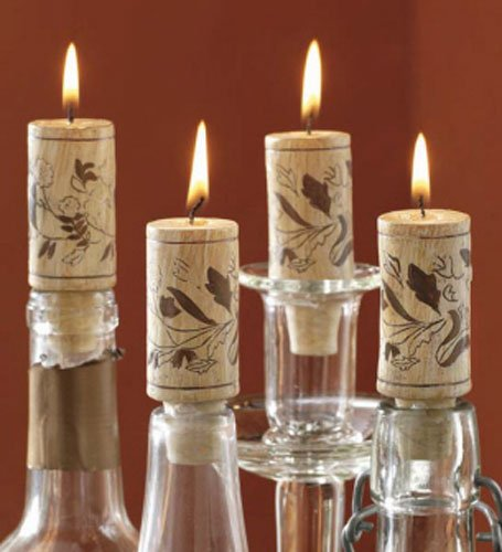Cork Candles: 5 Wine Cork Candle Ideas For Your Interior