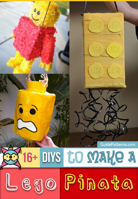 16+ DIYs to Make a Lego Pinata | Guide Patterns