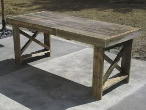 Lego Table Made From Pallets