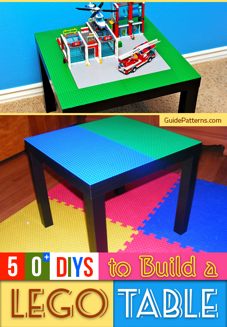 50 Diys To Build A Lego Table Guide