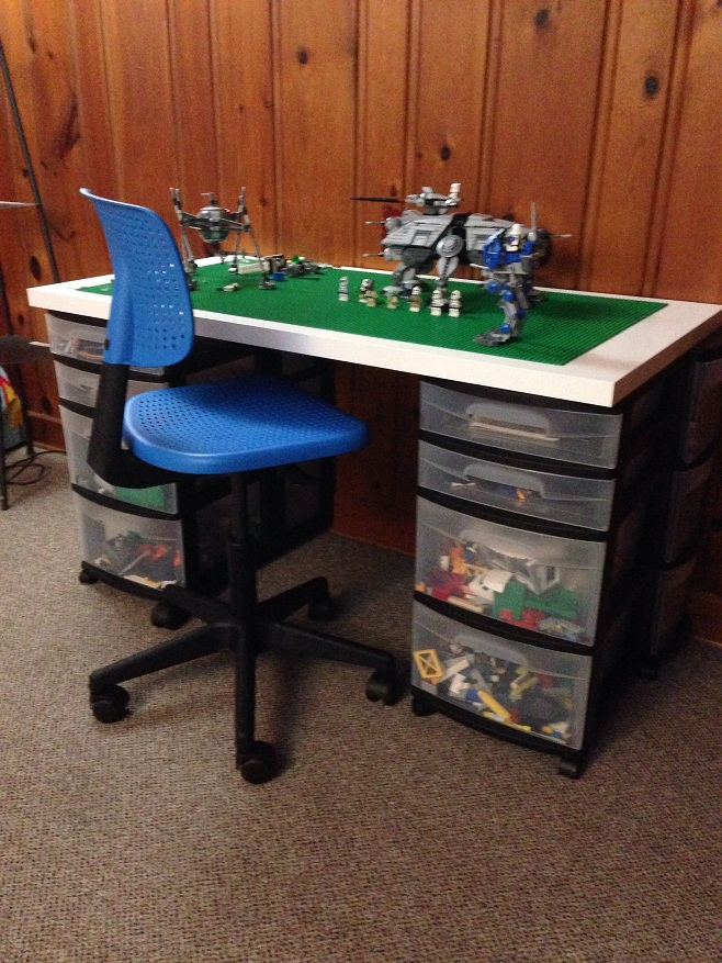 50+ DIYs to Build a Lego Table | Guide Patterns