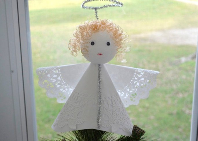 How to Make an Angel Tree Topper: 48+ DIYs | Guide Patterns