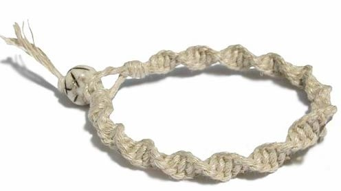 Twisted Pattern For Hemp Bracelet