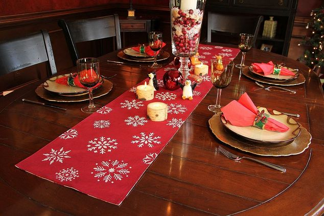 Christmas Table Runner Ideas