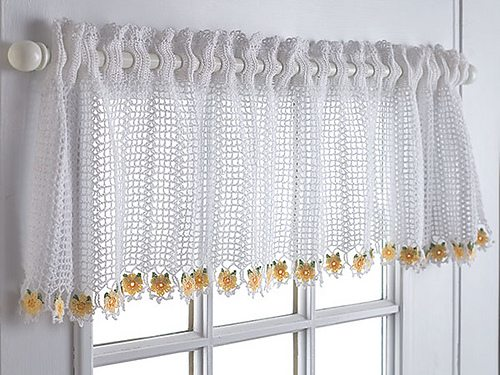 23 Free Crochet Valance Patterns Guide Patterns