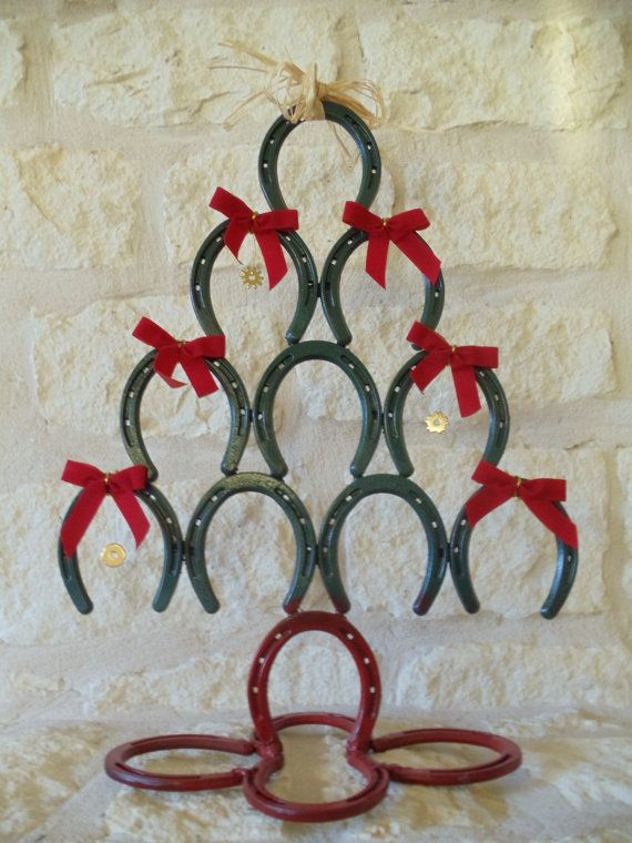 5 Diy Horseshoe Christmas Tree Guide Patterns