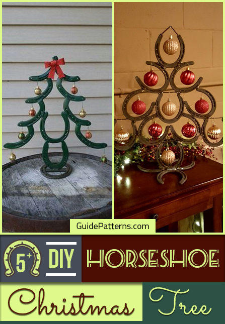 Horseshoe Christmas Tree For Sale.5 Diy Horseshoe Christmas Tree Guide Patterns