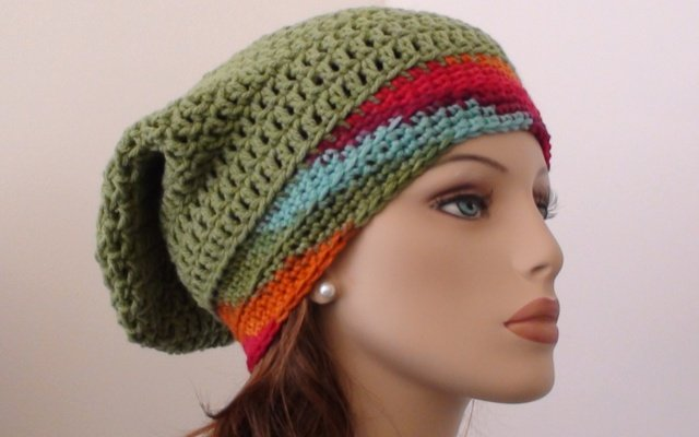 21+ Slouchy Beanie Crochet Patterns for Beginners 58fbdfb10e0