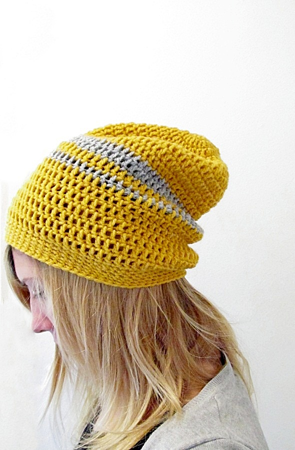 21 Slouchy Beanie Crochet Patterns For Beginners Intermediates
