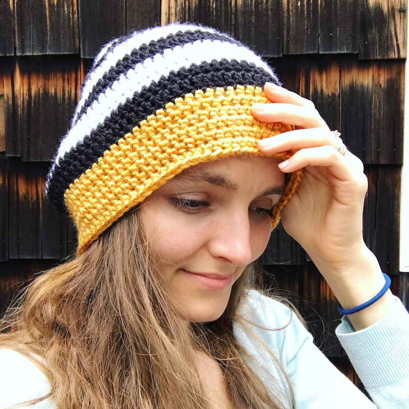 21+ Slouchy Beanie Crochet Patterns for Beginners c08ee3dec6