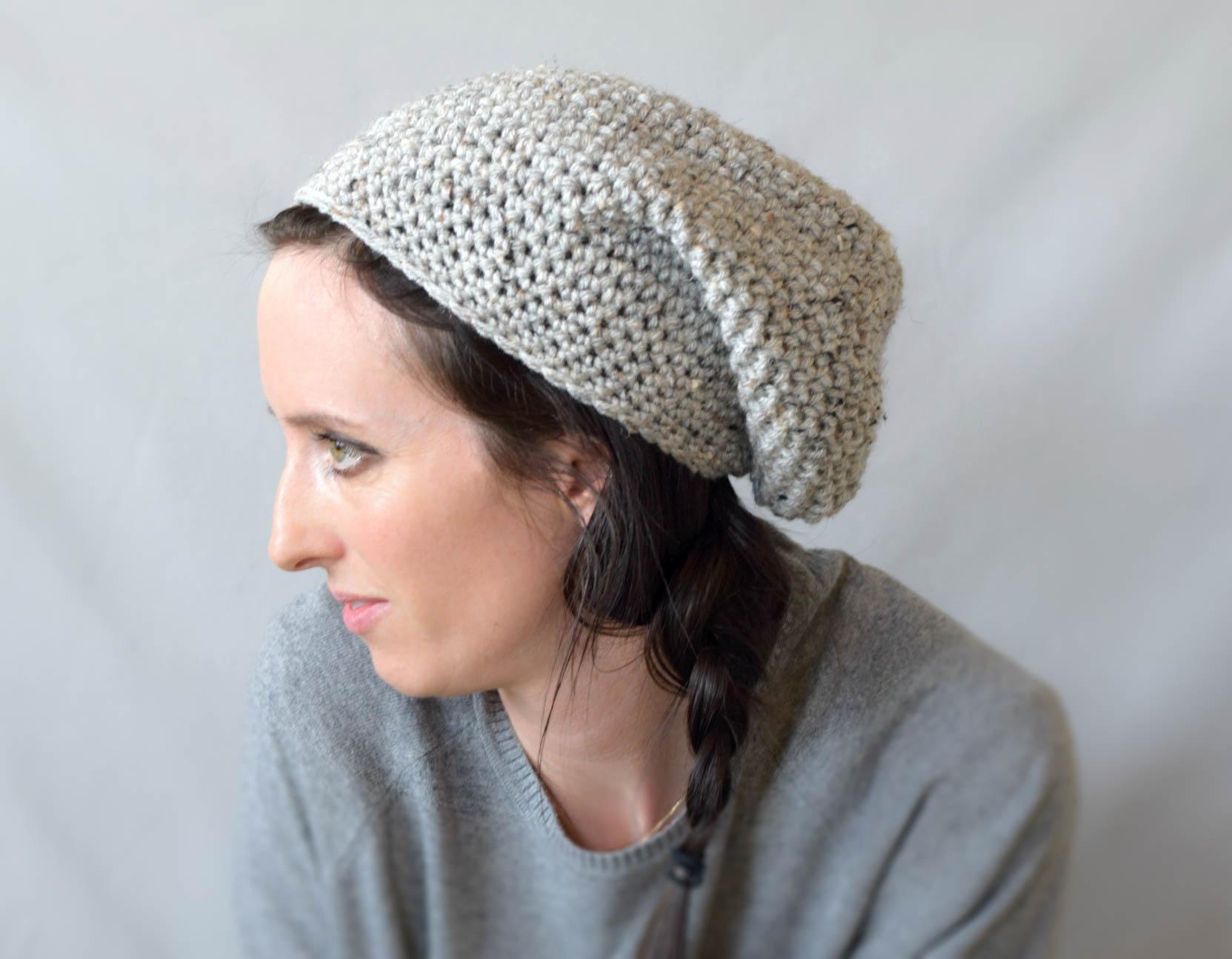 467241fd3cc 21+ Slouchy Beanie Crochet Patterns for Beginners