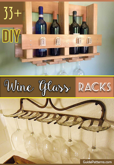 Wine Gl Rack Diy