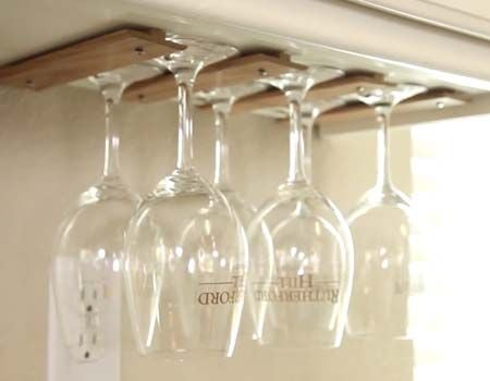 33+ DIY Wine Glass Racks | Guide Patterns