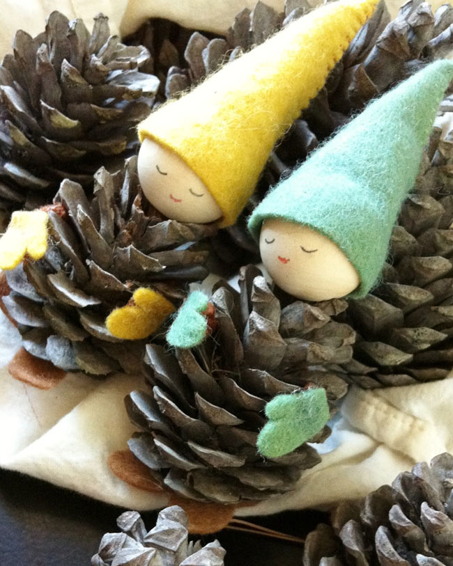 Pine Cone Crafts | Guide Patterns