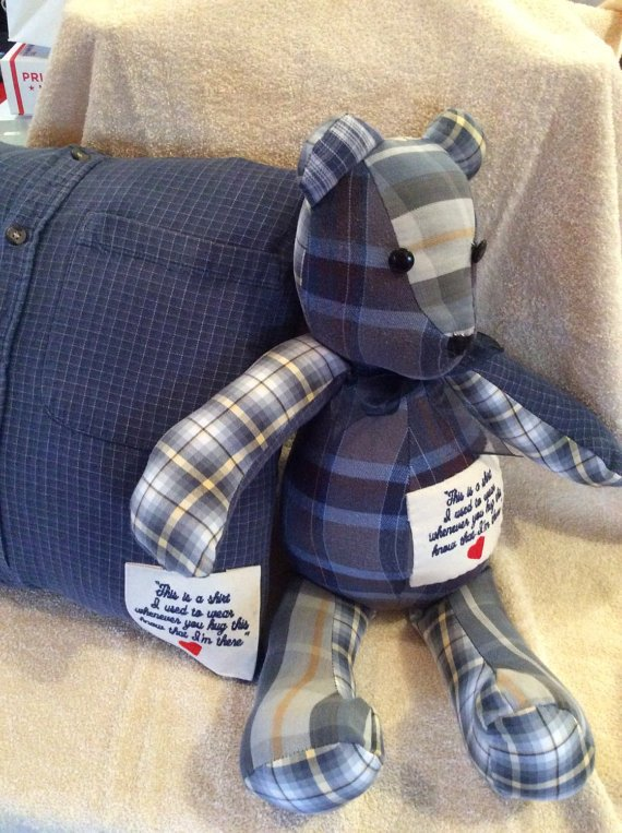How to Make Memory Teddy Bears from Clothing: 5+ DIYs | Guide Patterns