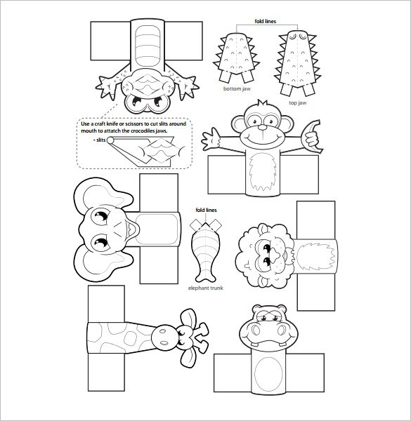 76 Diy Finger Puppets Instruction Printable Templates