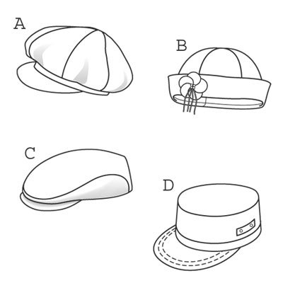 37 Diy Tutorials To Make A Newsboy Cap Guide Patterns