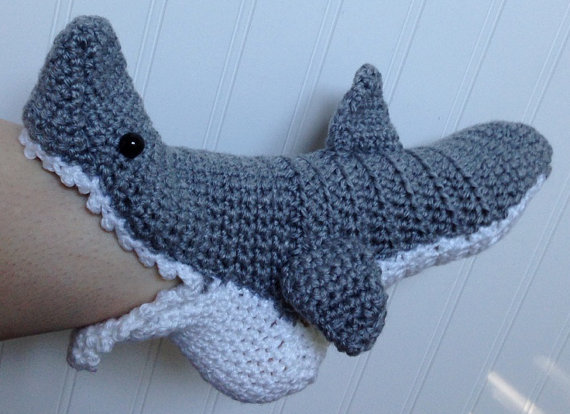 60 Free Patterns For Crochet Shark Slippers Guide Patterns Extraordinary Crochet Shark Slippers Pattern Free